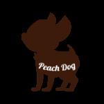 蒲田トリミングサロンPeach Dogロゴ